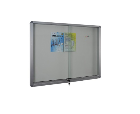 Sliding Glass Aluminium Frame Stick On Board